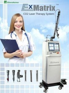 FDA Approved Ablative CO2 Laser Machine for Skin Resurfacing Scar Wrinkle Removal pictures & photos