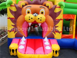 Inflatables Combo / Durable and High Quality Inflatables Lion Combo Castle for Kids pictures & photos