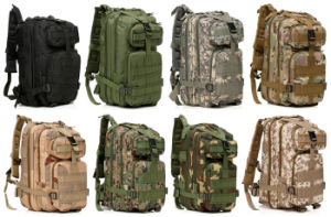 9 Colors Assault Army 3p Bag Military Tactical Backpack pictures & photos