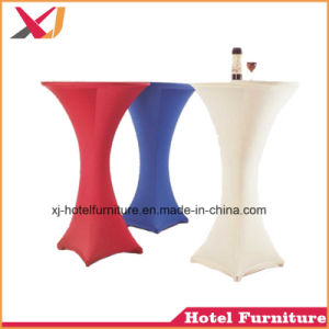 Spandex Table Clothes for Banquet/Hotel/Wedding/Restaurant/Hall pictures & photos
