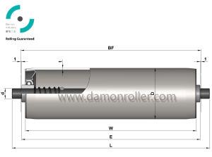Aluminum Gravity Conveyor Roller (1100) pictures & photos