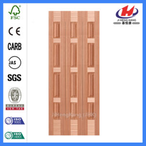 Moulded Wooden Bamboo Veneer Door Skin (JHK-013) pictures & photos
