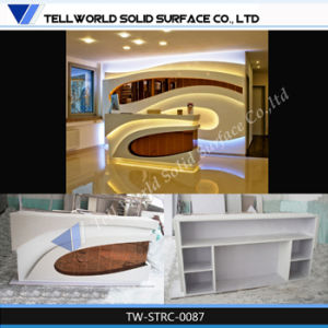 Corian Fashion Commercial Reception Counter pictures & photos