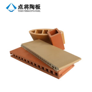 Irregular Shape Terracotta Louver with Natural Texture Performance pictures & photos