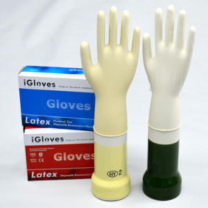 Good Quality Non Sterile Daily Use Disposable Latex Glove Malaysia pictures & photos