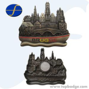 OEM Logo Antique Custom 3D Embossed Fridge Magnets (FTFM2270A) pictures & photos