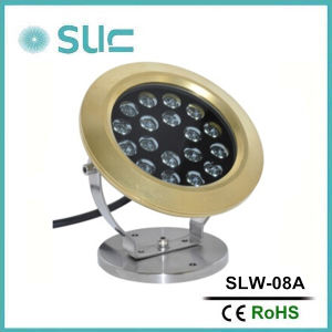 New Design Brass IP68 LED Underwater Fountain Light pictures & photos
