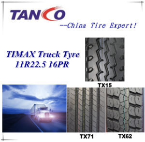 Hot Sale Chinese Truck Tyre Manufacturer 11r22.5 Truck Used Tyre for Us Market pictures & photos