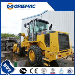 Liugong Cargador Frontal 3 Ton Front Wheel Loader Clg835 pictures & photos