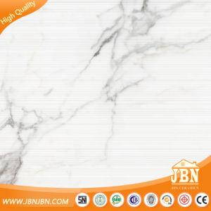 1 Tile 4 Faces Calacatta White Wall and Floor Porcelain Tiles (JM68071M1) pictures & photos
