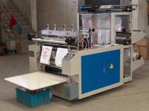 Computer Heat-Sealing Heat Cutting T Shirt Shopping Bag Making Machine pictures & photos
