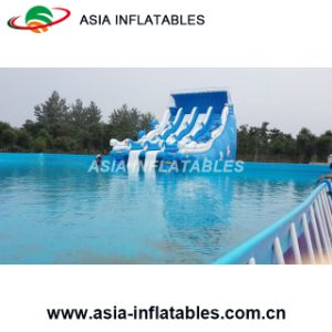 Outdoor Swimming Pool, Above Ground Swimming Pool, Metal Frame Swimming Pool pictures & photos
