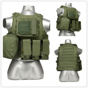Black Python Army Military Combat Soft Tactical Safety Camping Vest pictures & photos