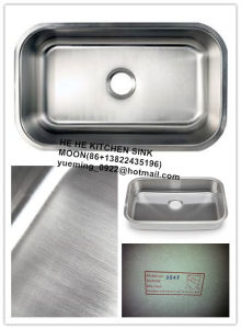 Stainless Steel Kitchen Sink Undermount Single with Cupc Certification pictures & photos