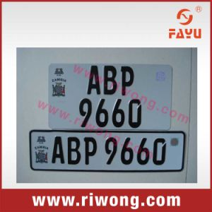 High Quality Aluminum License Plate in Germany pictures & photos