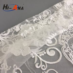 Trade Assurance Hot Sale Organic Cotton Lace Fabric pictures & photos