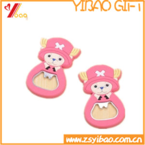 High Quality Customized PVC Silicone Beer Bottle Opener (YB-LY-O-03) pictures & photos