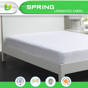 Fits Mattress Soft Touching Cotton Terry Deep Pocket Mattress Protector with Life Time Warranty pictures & photos