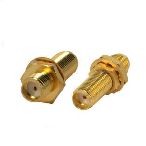 SMA Fiber Optic Flange Adapter pictures & photos