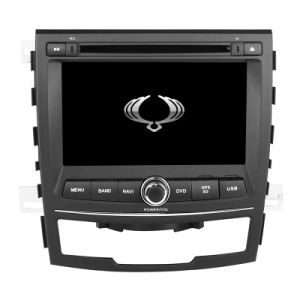 Wince 6.0 2 DIN Car DVD Player with Amplifier for Ssayngyong 2011 2012 2013 with GPS Mirror Link TV pictures & photos