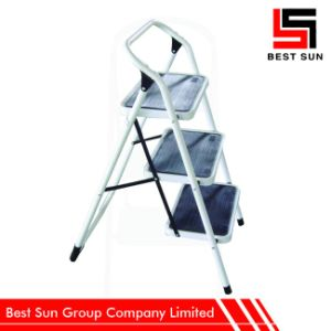 Portable Ladder Steel, Three Treads Ladders Home Use pictures & photos