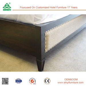 Free CAD and 3D Design Wood Double Bed pictures & photos
