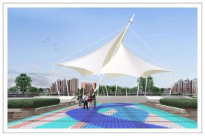 Beautiful Membrane Structure for Garden Square pictures & photos