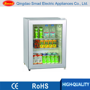 70L National Glass Door Fridge Mini Fridge with Glass Door pictures & photos