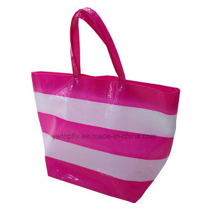 Topfly Clear PVC Lady Beach Handbags pictures & photos