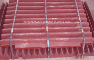 OEM Jaw Plate Casting, High Manganese Steel Casting pictures & photos