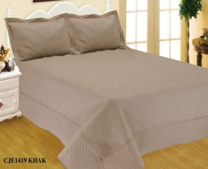 100% Polyester Ultrasonic Quilt (BEDDING SET) pictures & photos