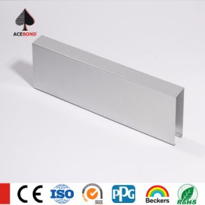 Silver Color U-Shaped Baffle Aluminum Ceiling pictures & photos