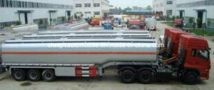 45 Cubic Meters Fuel Tanker 45000 L Oil Semi Trailer for Sale pictures & photos