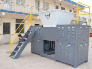 High Efficiency Four Shaft Plastic Shredder Machine pictures & photos