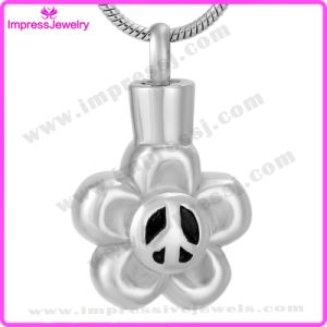 Memorial Jewelry Stainless Steel Flower Pendant Ijd9643 pictures & photos