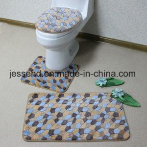Bathroom Product 3PCS Non-Slip Washable Bathroom Mat Sets Wholesale pictures & photos