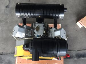 New 27HP Air Cooled V Type Twin Cylinder Diesel Engine (DE2V1000) pictures & photos