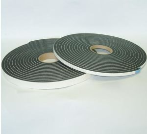 Black Color Fire Resistance One Side Adhesive PVC Foam Tape pictures & photos
