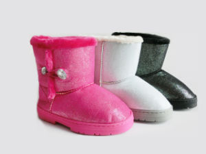 Winter Warm Soft Snow Boots for Ladies Girls pictures & photos