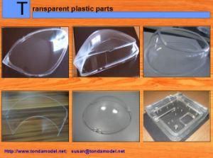 CNC Transparent PMMA PC Machining Parts Rapid Protptype pictures & photos