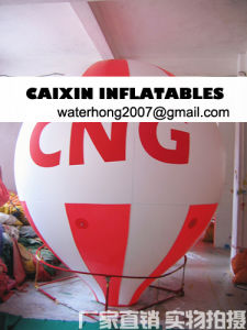 Water Drop Shape Helium Advertising Balloon pictures & photos