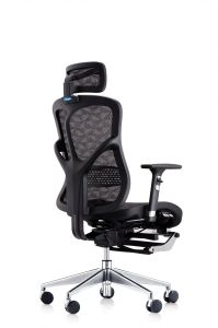 Full Mesh Manager Chair with Footrest pictures & photos