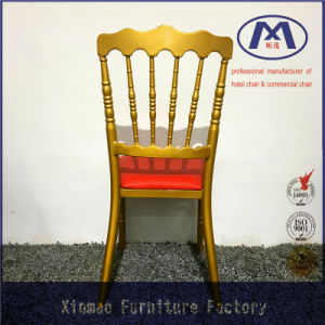 Made in China Modern Design Wedding Metal Napoleon Chair pictures & photos