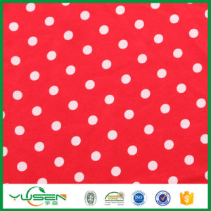 Print Polka Dots Spandex Fabric for Dress pictures & photos