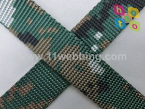 Printing Camouflage Nylon Webbing for Military Bag Army Belt pictures & photos