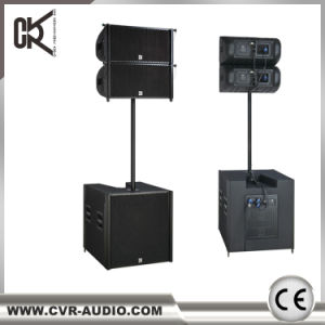Powered Dual 12 Inch Line Array Active 2000watt Outdooe Stage Sound Equipment pictures & photos