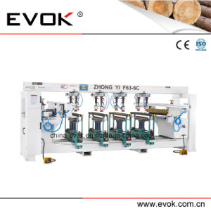 Super Quality Hot Selling Woodworking Automatic Furniture Multi-Drill Machine F63-6c; pictures & photos