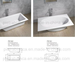 2017 New Style Cheap Price Buil-in Buthtub (PB1061N) pictures & photos