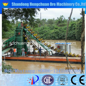 Multipurpose Bucket Chain Dredger for Sale and River Gold Dredger pictures & photos