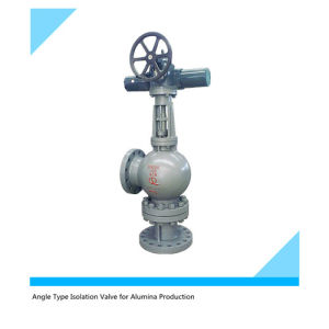 Y Type Angle Isolation Valve for Alumina Productuin pictures & photos